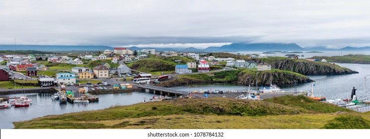 Harbor of stykkishalmur