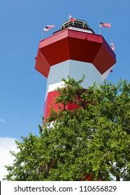 Harbor Town Lighthouse in Hilton Head, SC