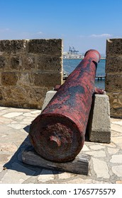 Harbor view of Larnaka Medieval Castle