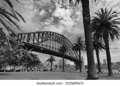 Harbour Bridge in Sidney Australia