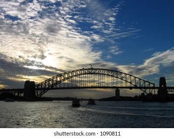 Harbour Bridge - Sunset