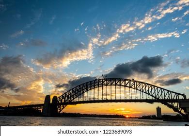 Harbour Bridge at Sunset