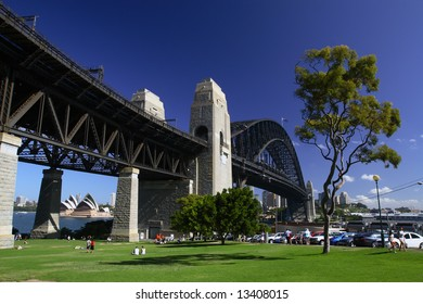 Harbour Bridge, Sydney Australia.