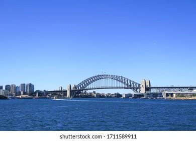 harbour bridge in sydney city