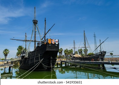 Harbour of the caravels, Rabida, Huelva, Spain