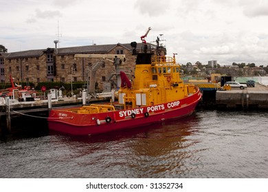 Harbour Fire Boat
