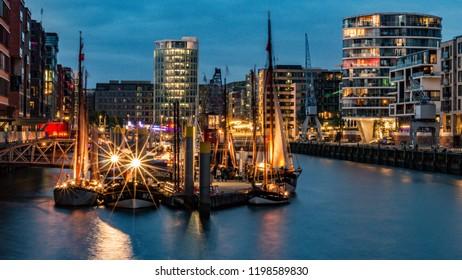 Harbour in Hamburg