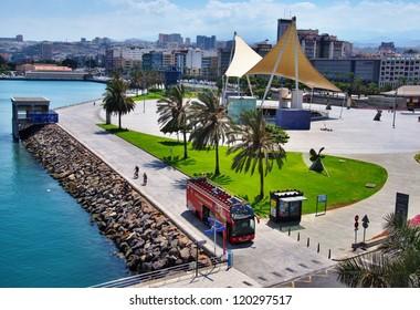 Harbour at Las Palmas
