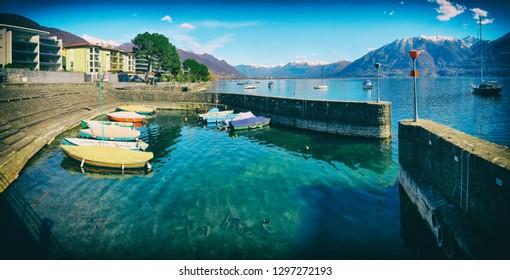 Harbour of Locarno