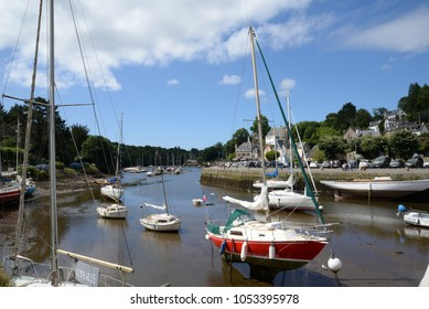 Harbour of Pont Aven, Brittany, France