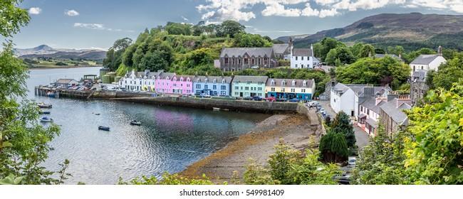 Harbour of Portree (Isle of Skye, Scotland) - HDR panorama