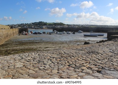 The harbour at St Michael's Mount, Marazion, Cornwall