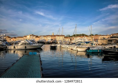 Harbour of St Tropez, France