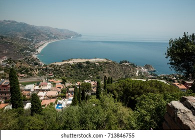 Harbour view in Taormina