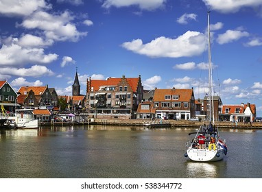 Harbour of Volendam, Netherlands.