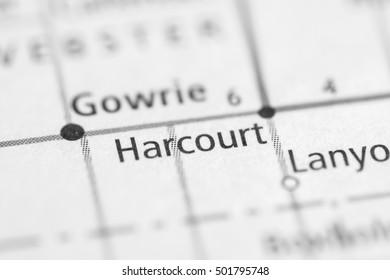 Harcourt. Iowa. USA.