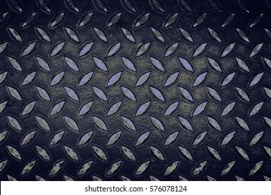 Diamond Plate Sheet Metal Memphis Industrial Floor Pattern
