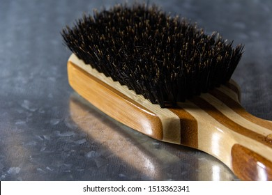 Hard Boar Hair Bristle Brush