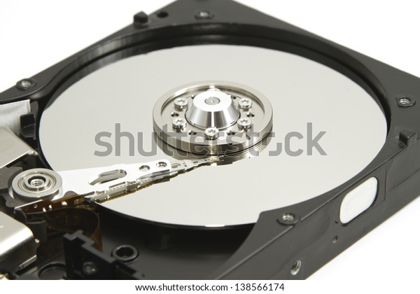 Hard disk drive inside for data recovery