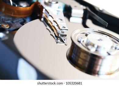 The hard drive . .