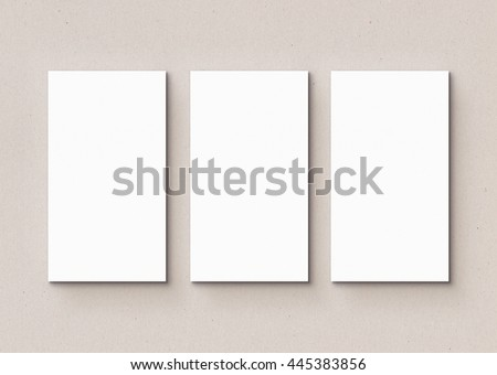hard paper paper template mock on stock photo edit now 445383856