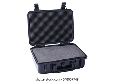 Hard Plastic case. Protect object from water.