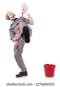 Hard rock janitor