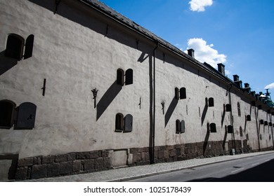 Hard shadows on a wall