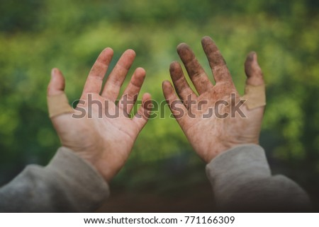 hard working hands の写真素材 今すぐ編集 771166309 shutterstock