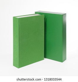 Hardcover book with box