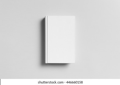 Hardcover Canvas Book Mock-Up - Front