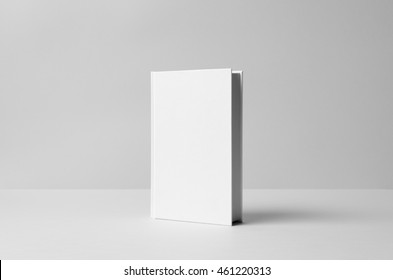 Hardcover Canvas Book Mock-Up - Wall Background