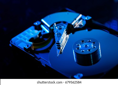 Harddisk is one of the best value storage that today, every people are using in computers. There are consist of disk plate, controller and seeking pin inside of it. Nowadays, it can store 8 terabyte.
