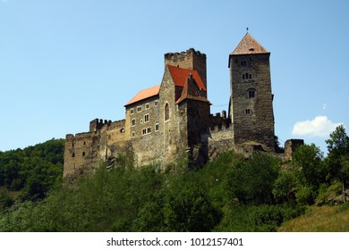 Hardegg castle in Thayatal