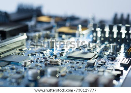 Hardware design electrical pcb service and support chip upgrade semiconductor manufacturing, Electronic device circuit board assembly tech industry.
