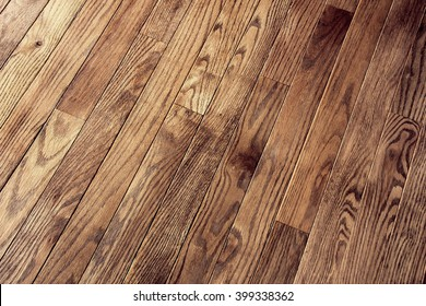 Hardwood floor / Stained floor background