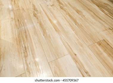 hardwood floor waxing glossy and shiny