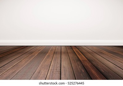 wood floor perspective. Hardwood Floor And White Wall Wood Perspective K