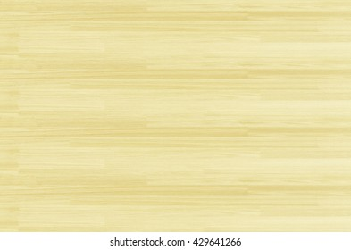 Hardwood maple basketball court floor viewed from above for natural texture pattern and background