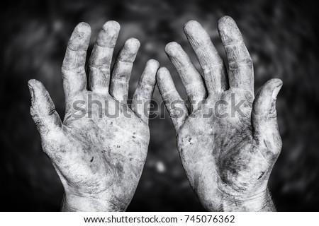 hardworking hands の写真素材 今すぐ編集 745076362 shutterstock