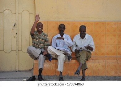 HARGEISA, SOMALIA - JANUARY 14, 2010:Hargeisa is a city in Somalia,  capital of the unrecognized state of Somaliland, the second largest city in Somalia after Mogadishu. Somali people.