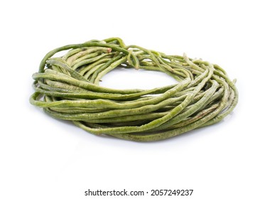 Haricots Verts isolated on a white background