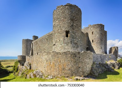 Harlech Castle at North Wales