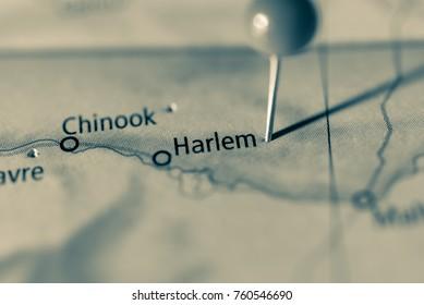 Harlem, Montana, USA.