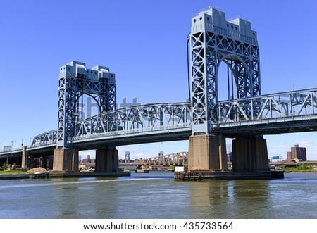 Harlem River Lift Span Section Triborough Stock Photo Edit Now