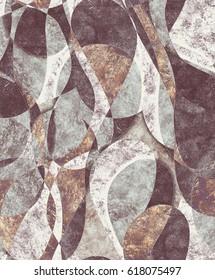 Harlequin violet pattern