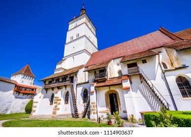 Harman, fortified medieval Saxon church in Transylvania, Romania.