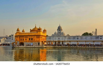 The Harmandar Sahib, also known as Darbar Sahib(Golden Temple) is a Gurdwara located in the city of Amritsar, Punjab, India.