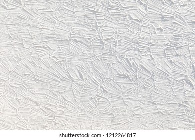 harmonic white wall background with structure of plaster