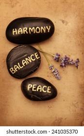 Harmony, Balance, Peace
